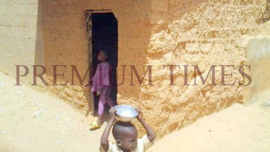 The house Miss Oruru spent her first night in Tofa village