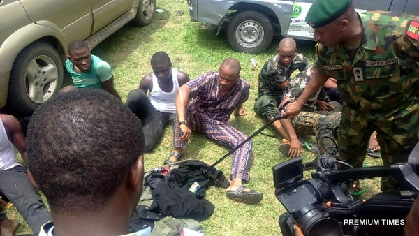 rivers elections_arrest of fake soldiers