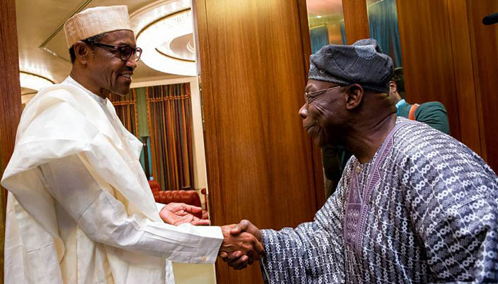 Image result for obasanjo and buhari