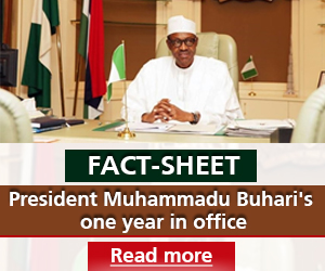 PMB one year in office