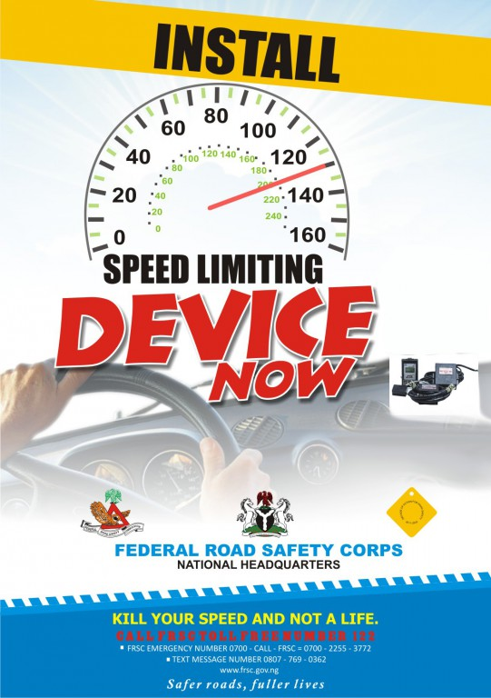 FRSC Speed Limit