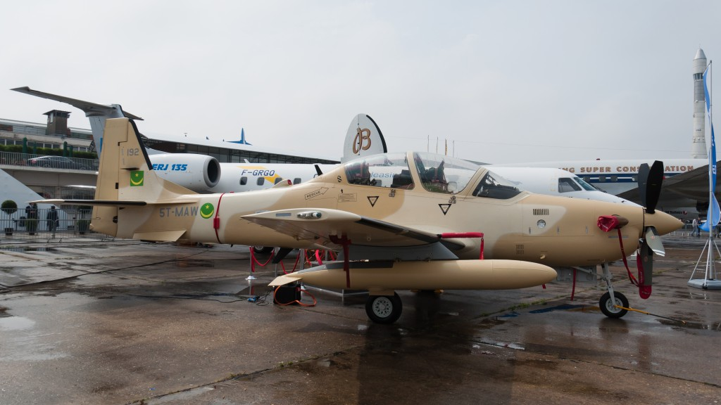 U.S. seeks to sell 12 attack aircraft for Nigeria in Boko Haram fight