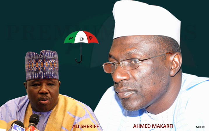 Image result for pictures of Senator Makarfi and Sherif