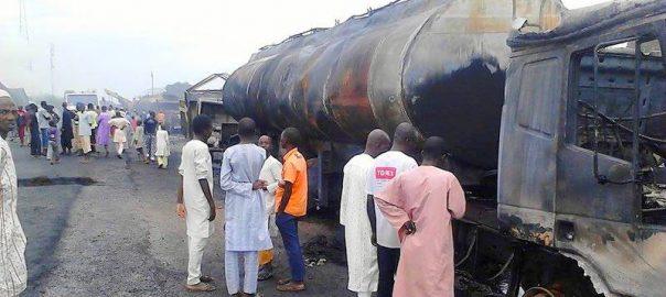Fuel tanker fire in Kano