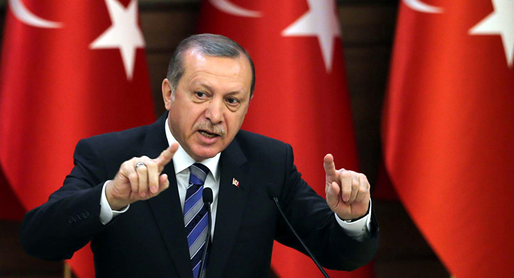 Mr Erdogan said Turkey has been taking necessary measures regarding the economy,