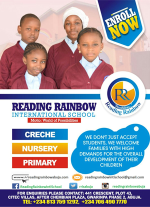Reading Rainbow Advert