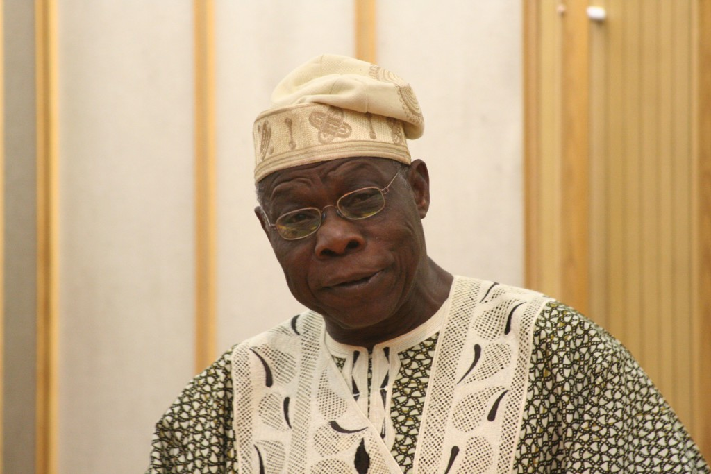 UN chief thanks Obasanjo for smooth transition in Liberia