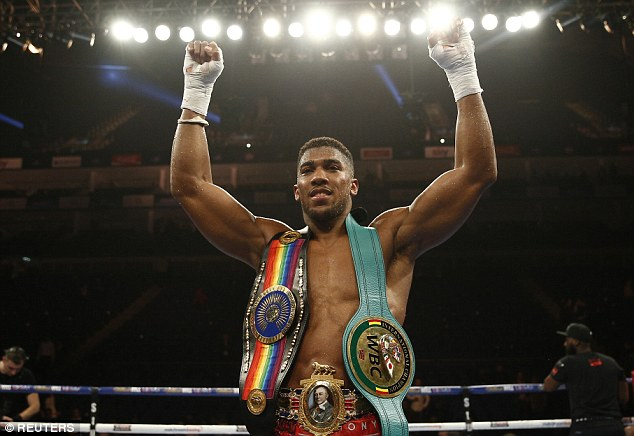 Boxing: Joshua signs two fight deals for Wembley stadium