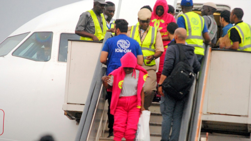 Thousands of Nigerians have now returned from Libya.
