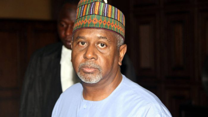 Mr. Dasuki is being held by the SSS.