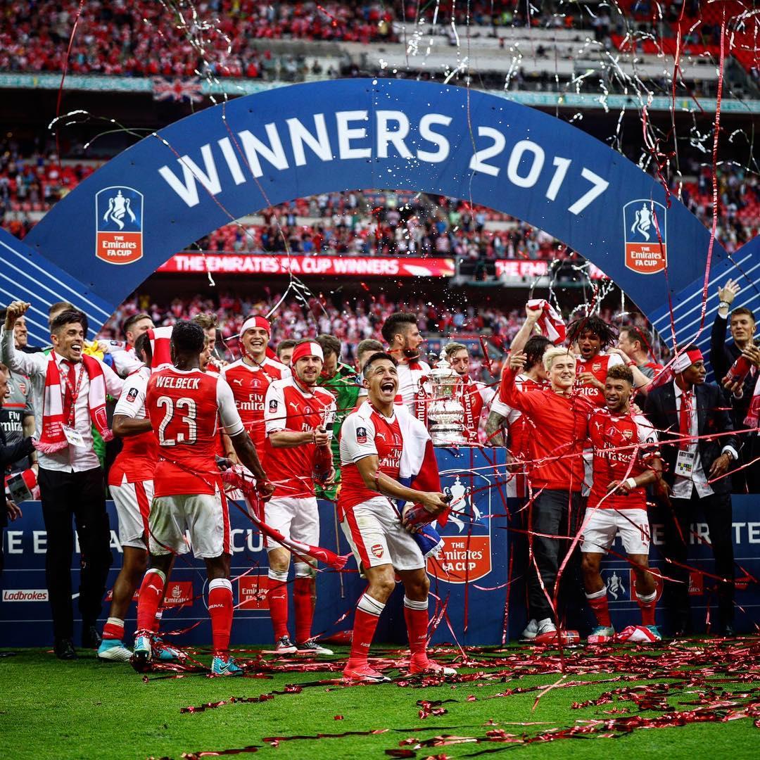 Arsenal FC - FA Cup winner 2017 - Premium Times Nigeria