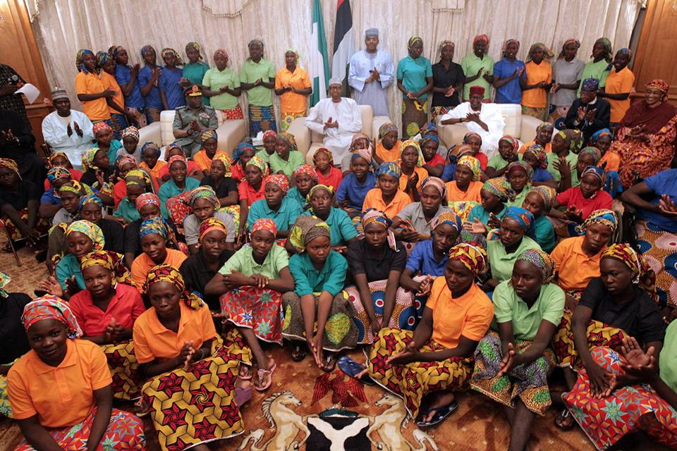 Nigeria Chibok girls: 103 freed girls to go back to school