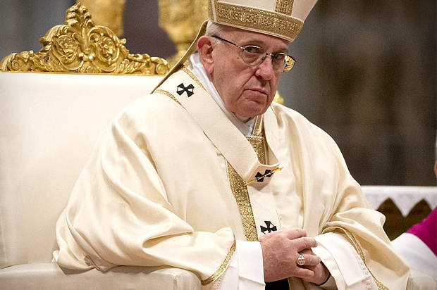 Pope Francis on Wednesday condemned the killing of Palestinians near the Gaza-Israel border, saying the deaths would only lead to more violence, and appealed for dialogue to bring justice and peace to the Middle East.