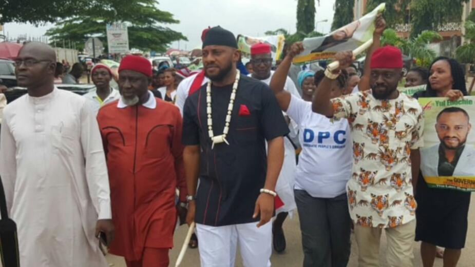 Nollywood actor Yul Edochie
