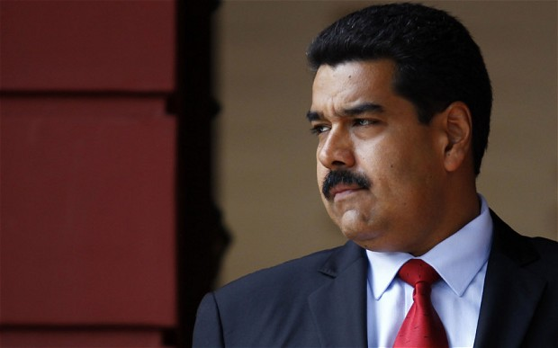 The U.S. accused them of plundering the country's wealth and helping Maduro maintain his grip on power.