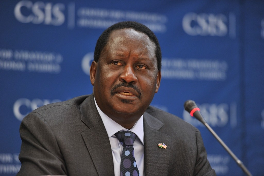 Opposition leader Odinga says he will be sworn in as president.