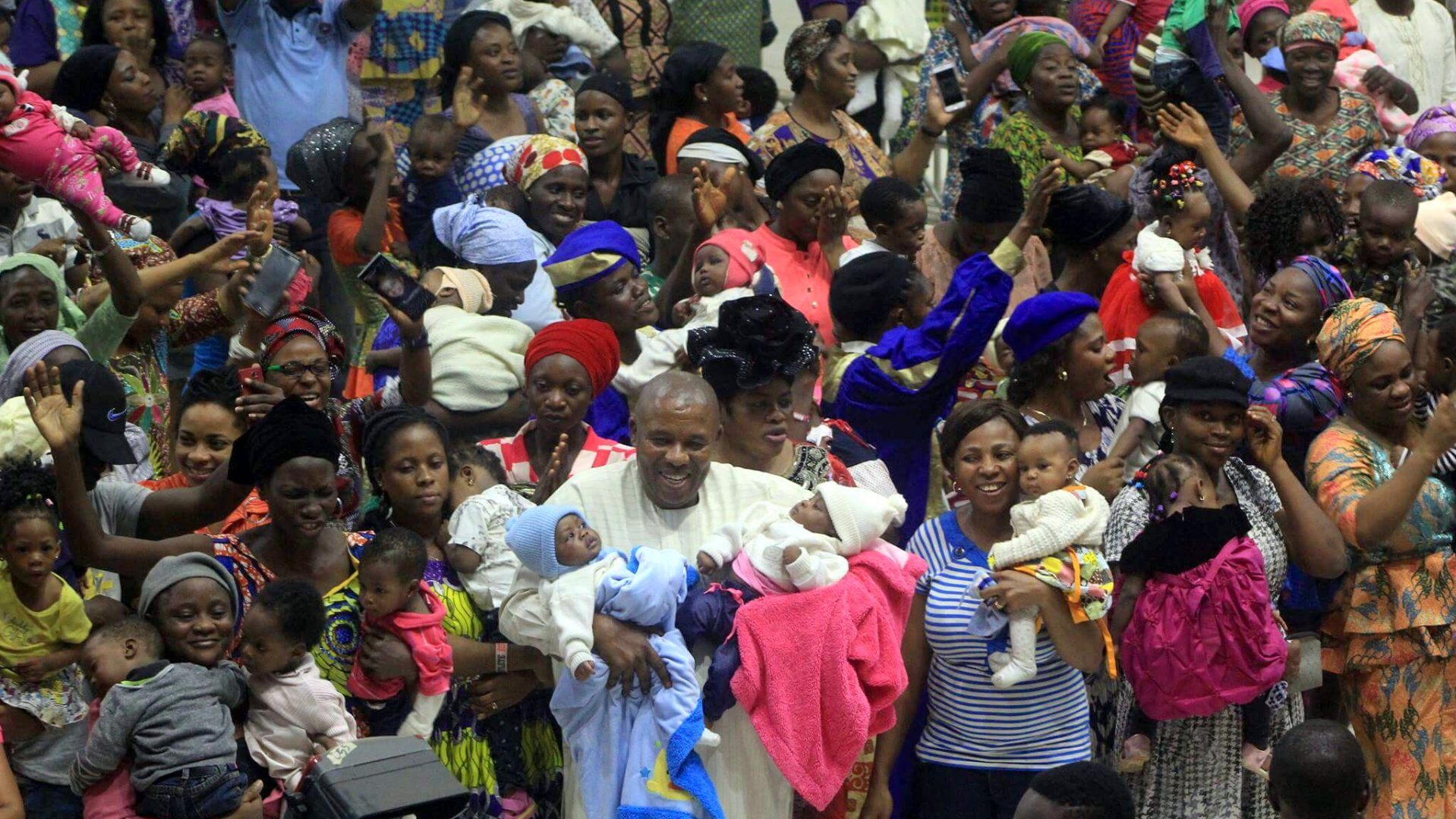 FEATURE: RCCG lady avoids Pastor Adeboye's prayers for babies