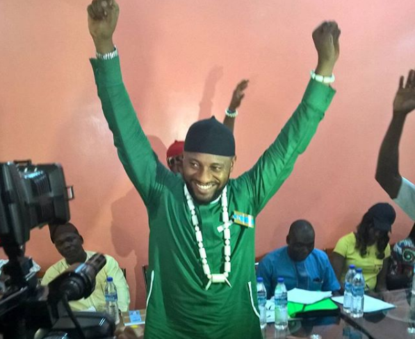 Mr. Edochie secured only 145 votes in the Anambra  gubernatorial election.
