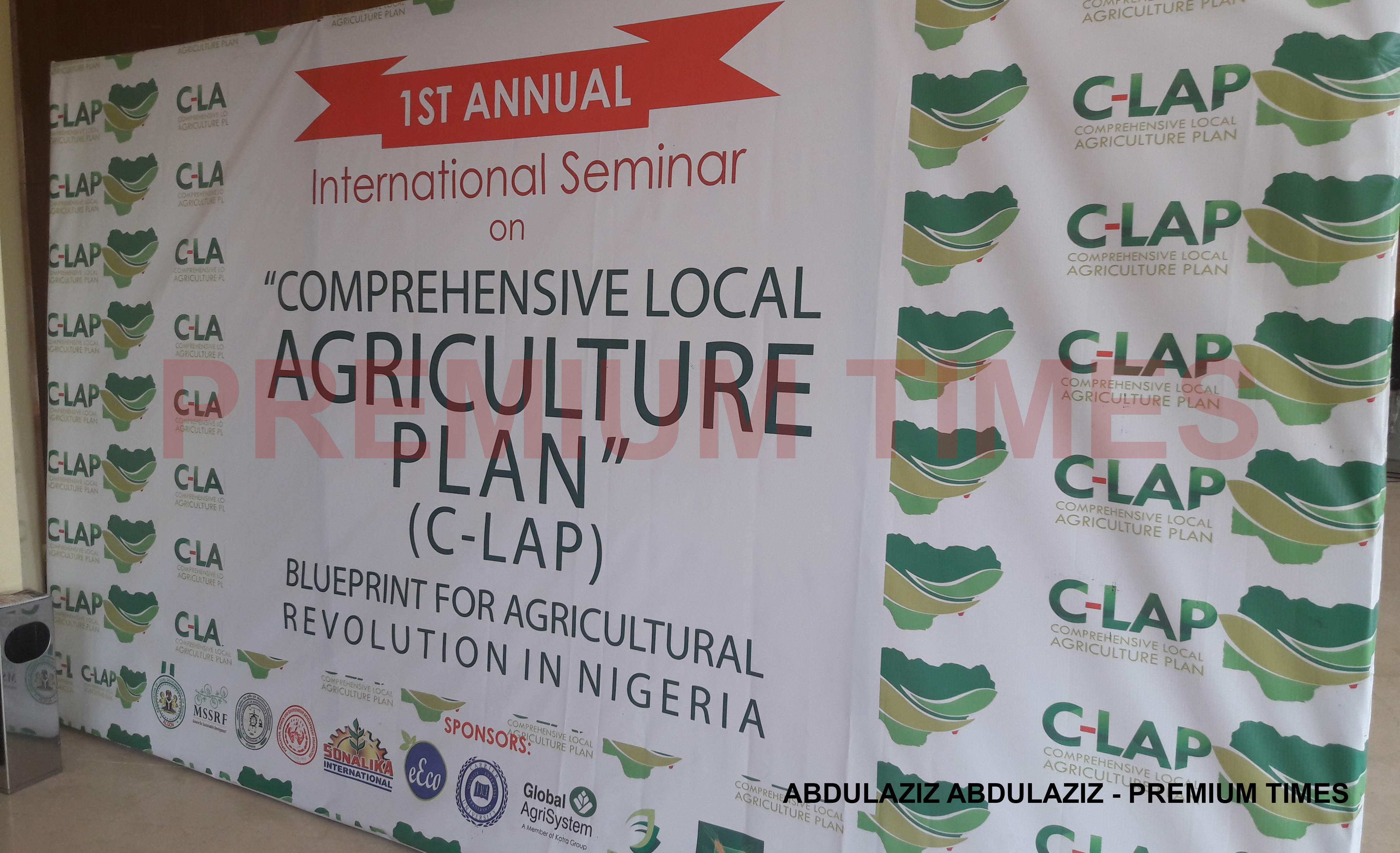 Live update international seminar on comprehensive local live update international seminar on comprehensive local agriculture plan c lap premium times nigeria malvernweather Images