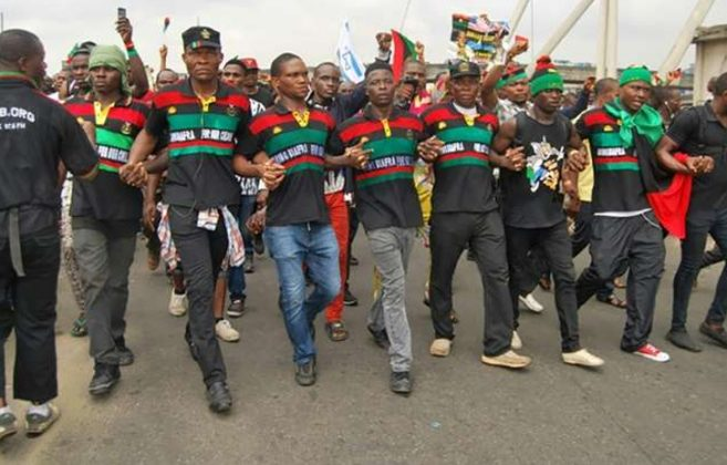 BREAKING: IPOB: Court orders release of protesting women, strikes out case