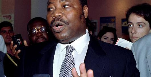 Former Nigerian oil Minister Dan Etete, involved in the Malabu Scandal. [Photo credit: THE REPUBLICAN NEWS]
