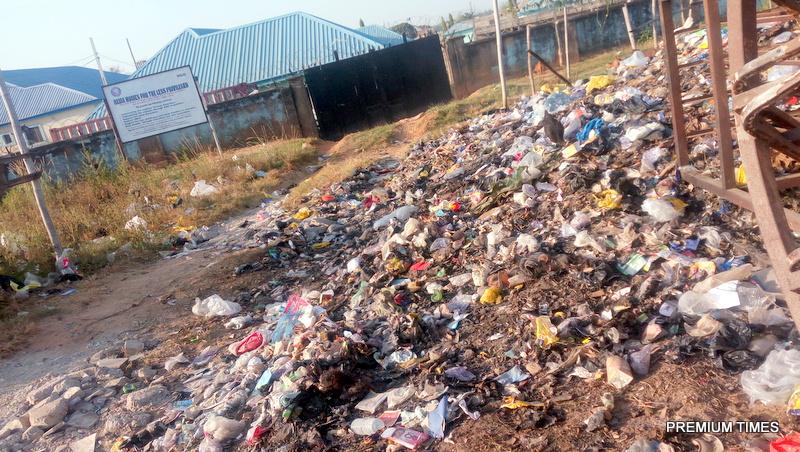 Umrah Banner: Abuja Orphanage Home Shares Entrance With Dumpsite