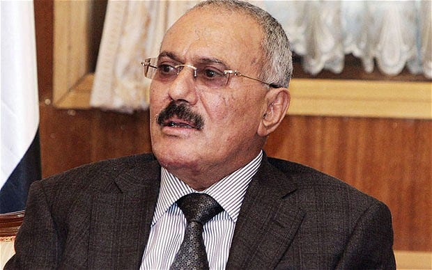 Mr. Saleh ruled Yemen for more than three decades.