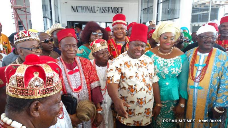 Mr. Umeh won the recently conducted senatorial election for Anambra Central district.