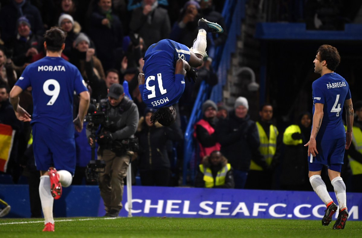Victor Moses Scores As Chelsea Defeat West Brom