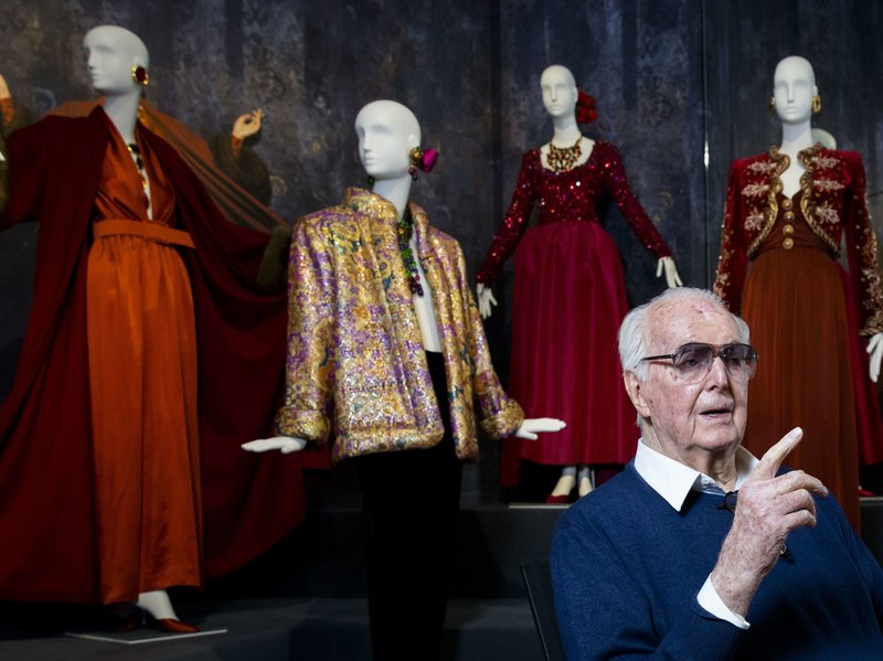Givenchy, whose full name was Count Hubert James Marcel Taffin de Givenchy, was a giant of the fashion world.