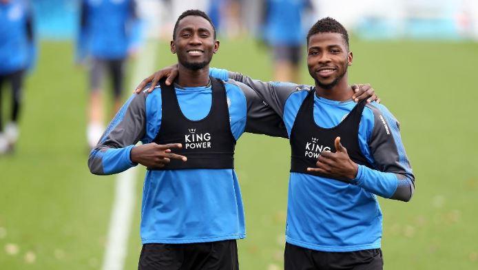 Wilfred Ndidi and Kelechi Iheanacho