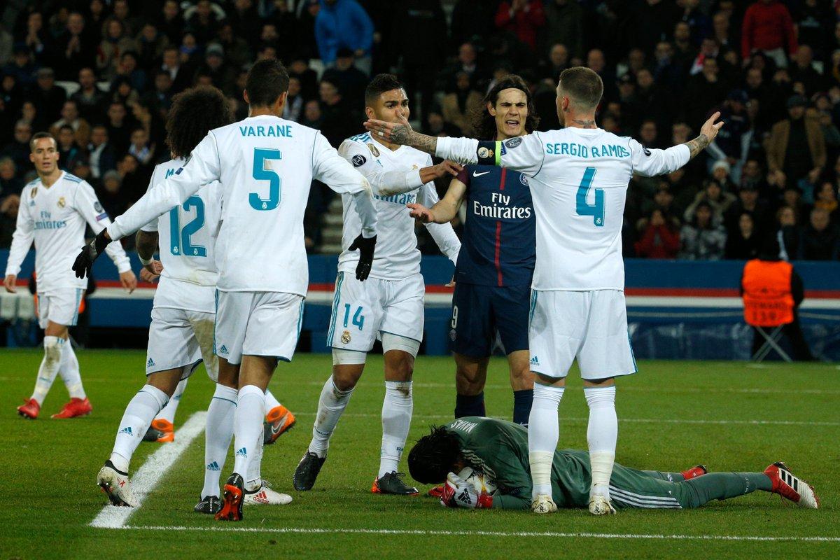 Real Madrid Vs Psg Data