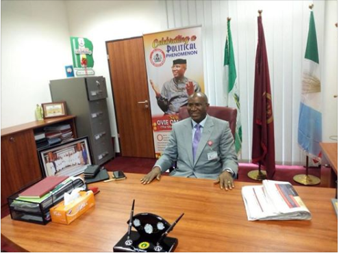 Delta Central Senator, Ovie Omo-Agege, whose suspension by the Senate was quashed by the Court, has resumed legislative duties.