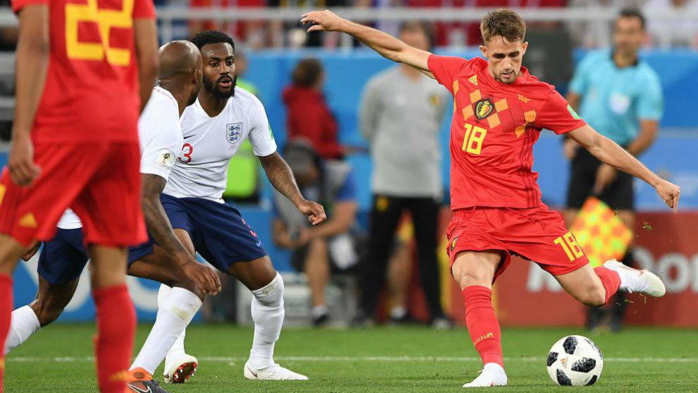 Belgium 1-0 England: Januzaj blast wins Group G for Belgium