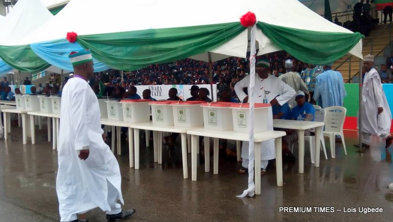 One faction was loyal to Senator Omo-Agege.