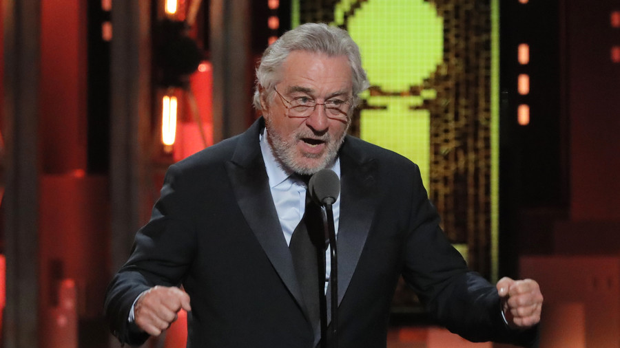 Oscar-winning actor, Robert de Niro, got a standing ovation at the Tony Awards on Sunday after delivering a tirade against President Donald Trump on stage.