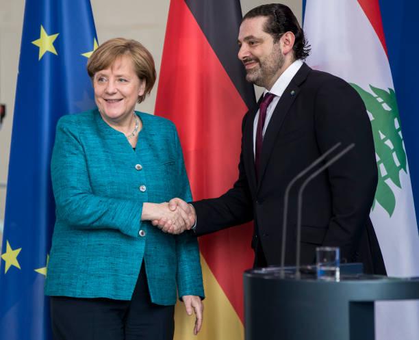 The German leader visited Lebanon.
