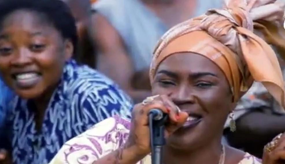 A female musician, Hawawu Alake-Adisa, popularly known as