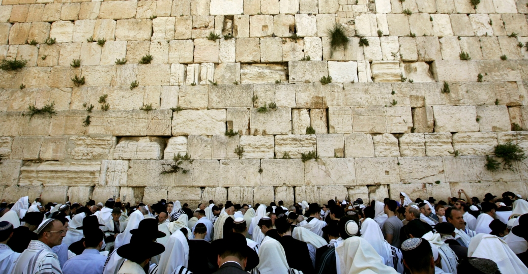 Large stone from Jerusalem's Western Wall crashes into prayer area