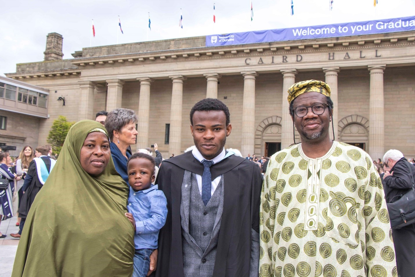 Family affair as father, son graduate from University of Dundee