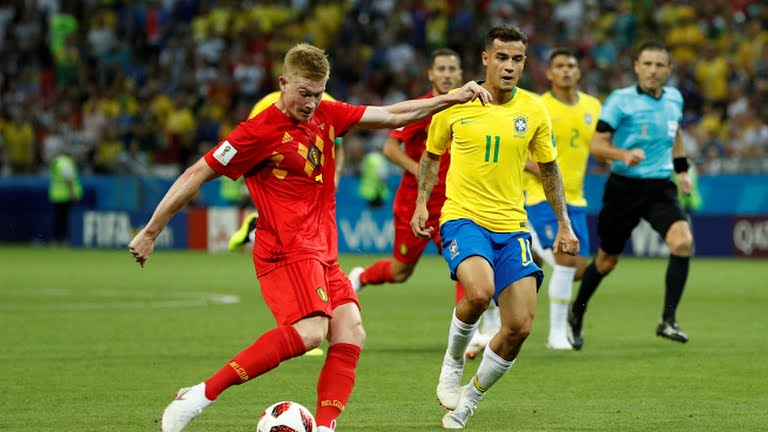 BREAKING: Belgium knock Brazil out of World Cup