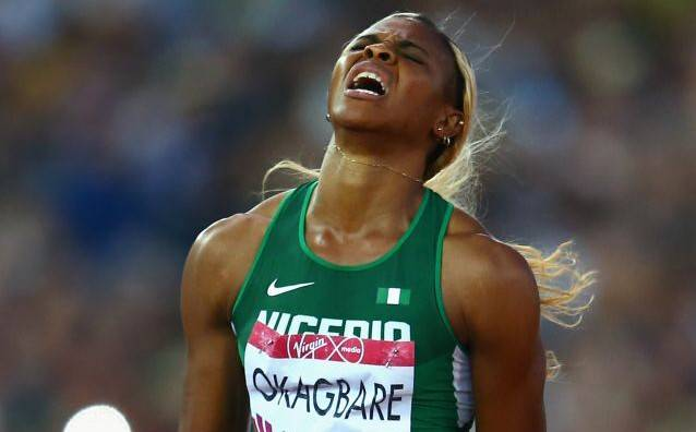 Blessing Okagbare suspended from athletics hours to Olympics 100m semi-final race