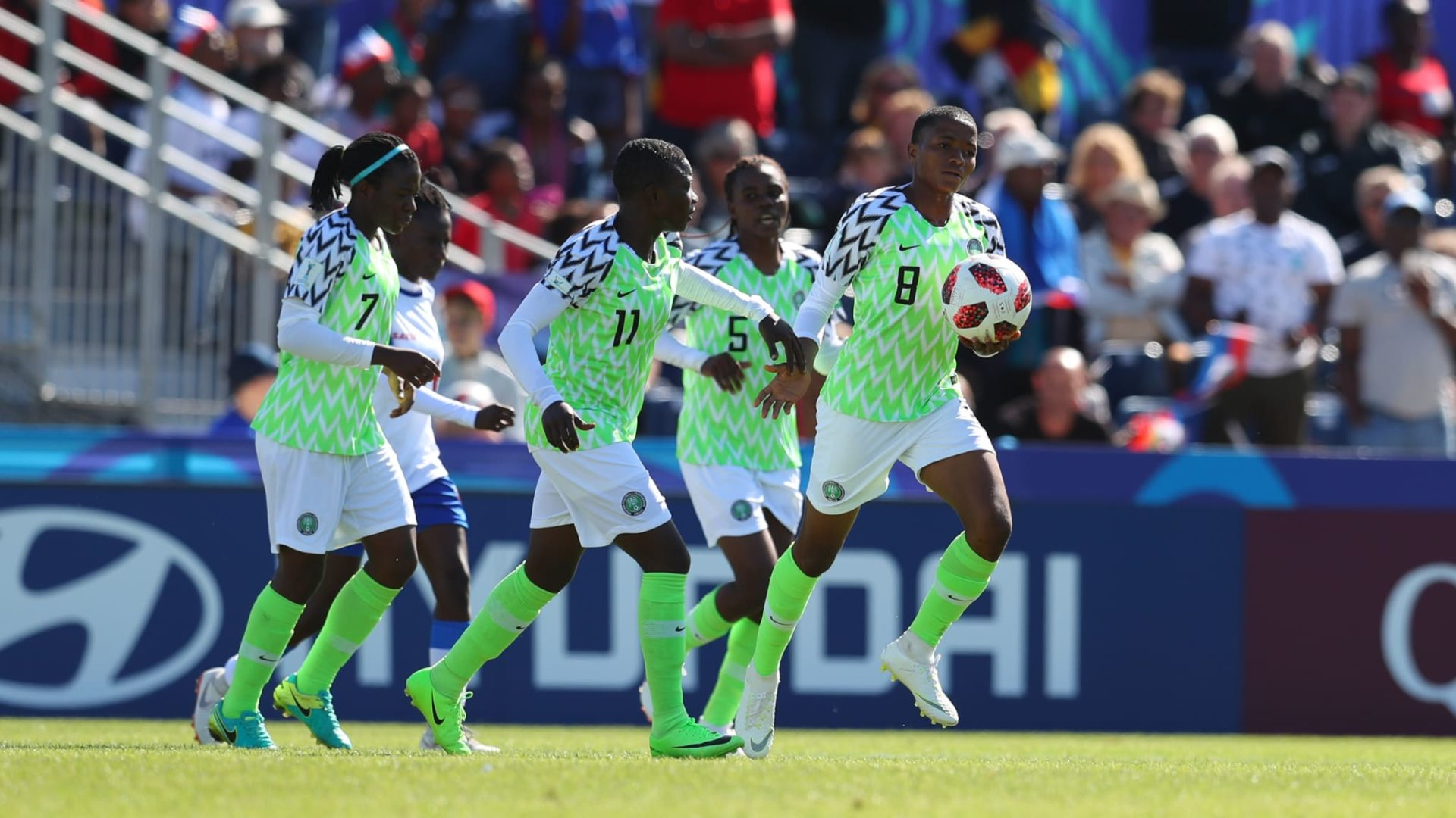 2019 African Games: Nigeria's Falconets to face South Africa, Cameroon