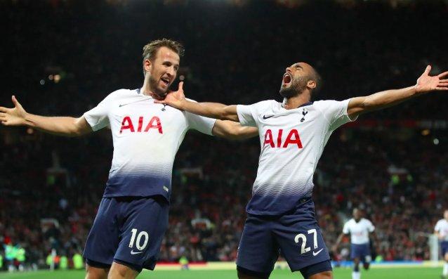 EPL: Tottenham Crush Manchester United At Old Trafford