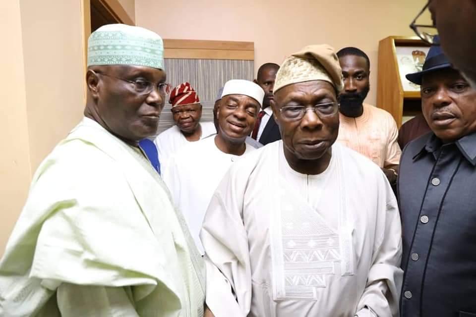 PHOTOS: Obasanjo forgives Atiku, backs him for President