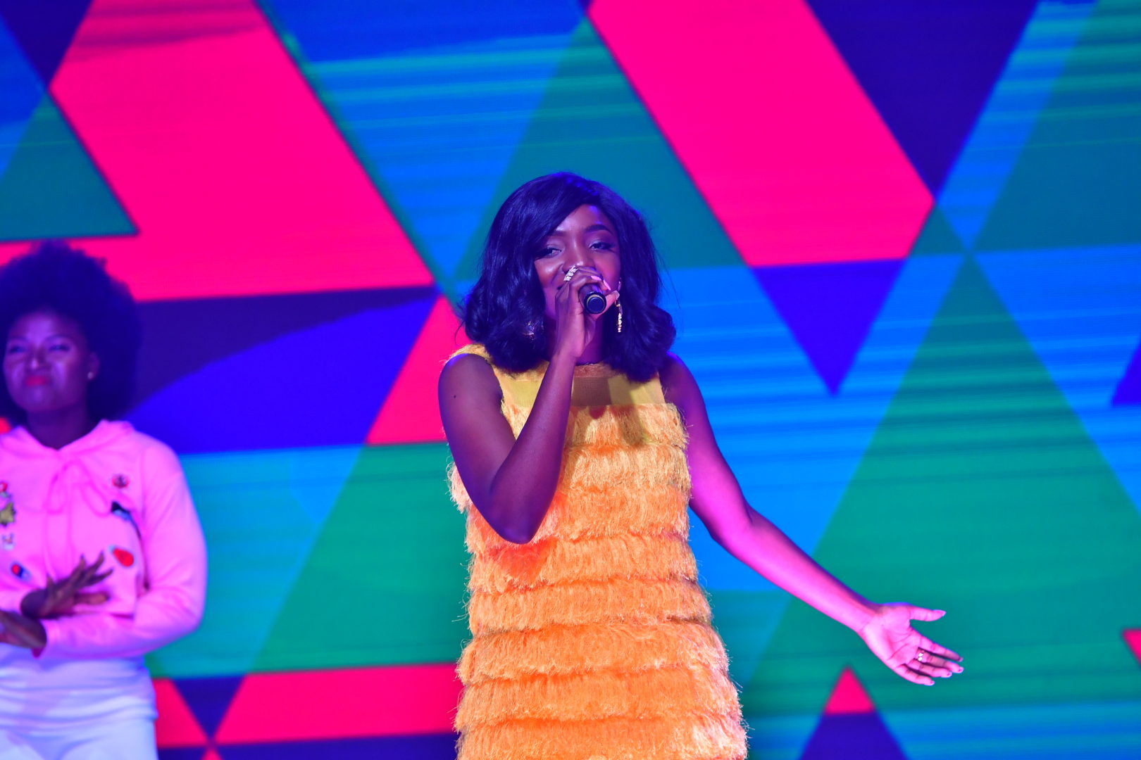 Wande Coal performed at the over 2, 000 capacity Indigo at the O2 Arena, while Simi took to the 800 capacity O2 Academy.
