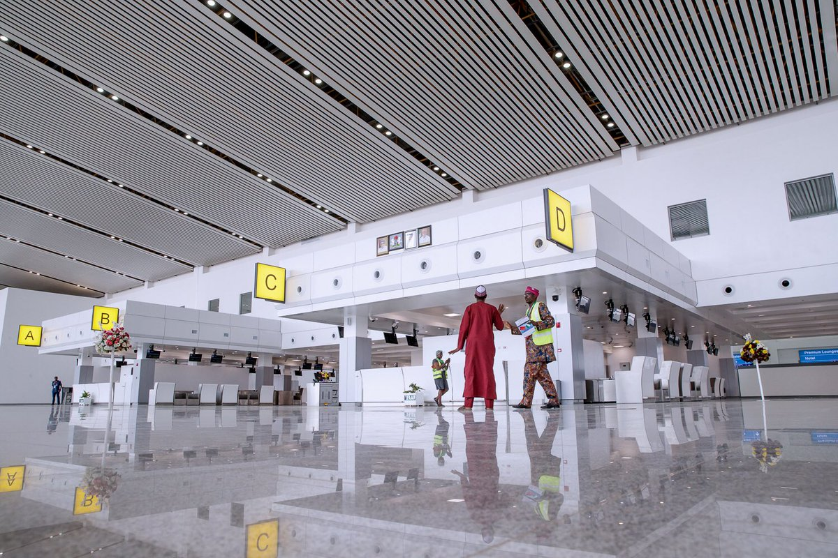 FAAN offers freebies to passengers at new terminal