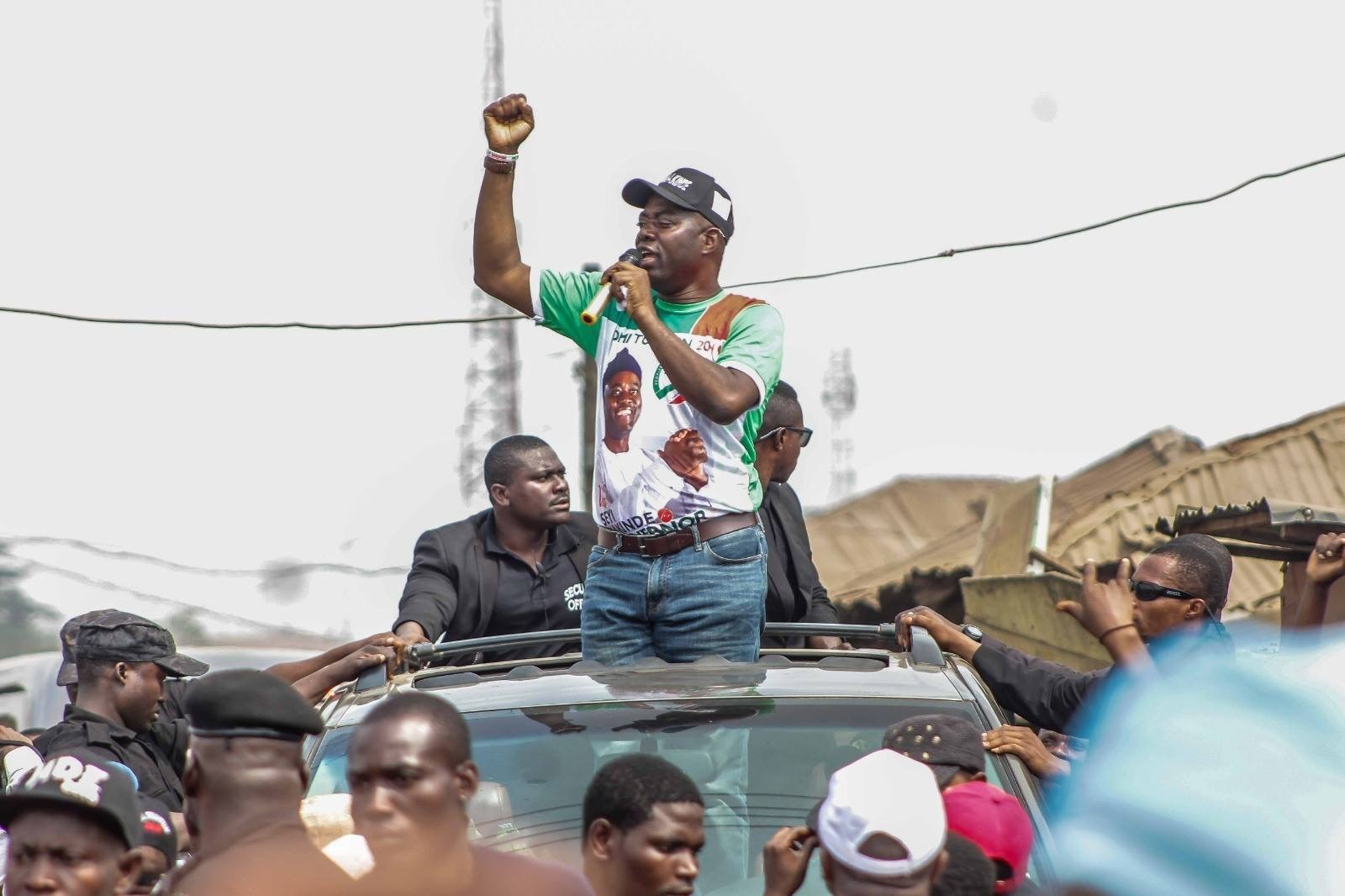 PDP's Seyi Makinde wins Oyo governorship election