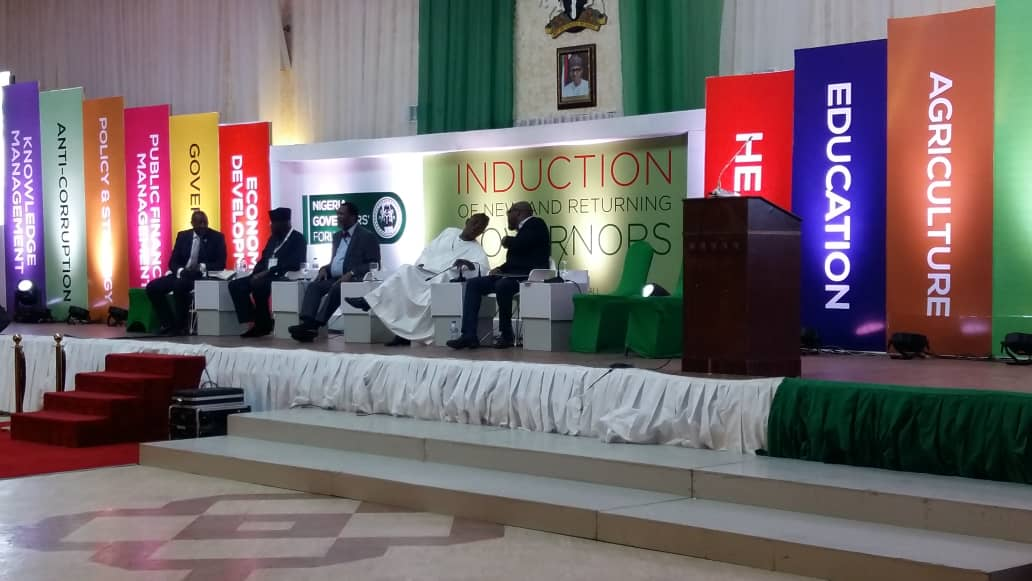 NGF holds induction for new, returning governors (LIVE UPDATES