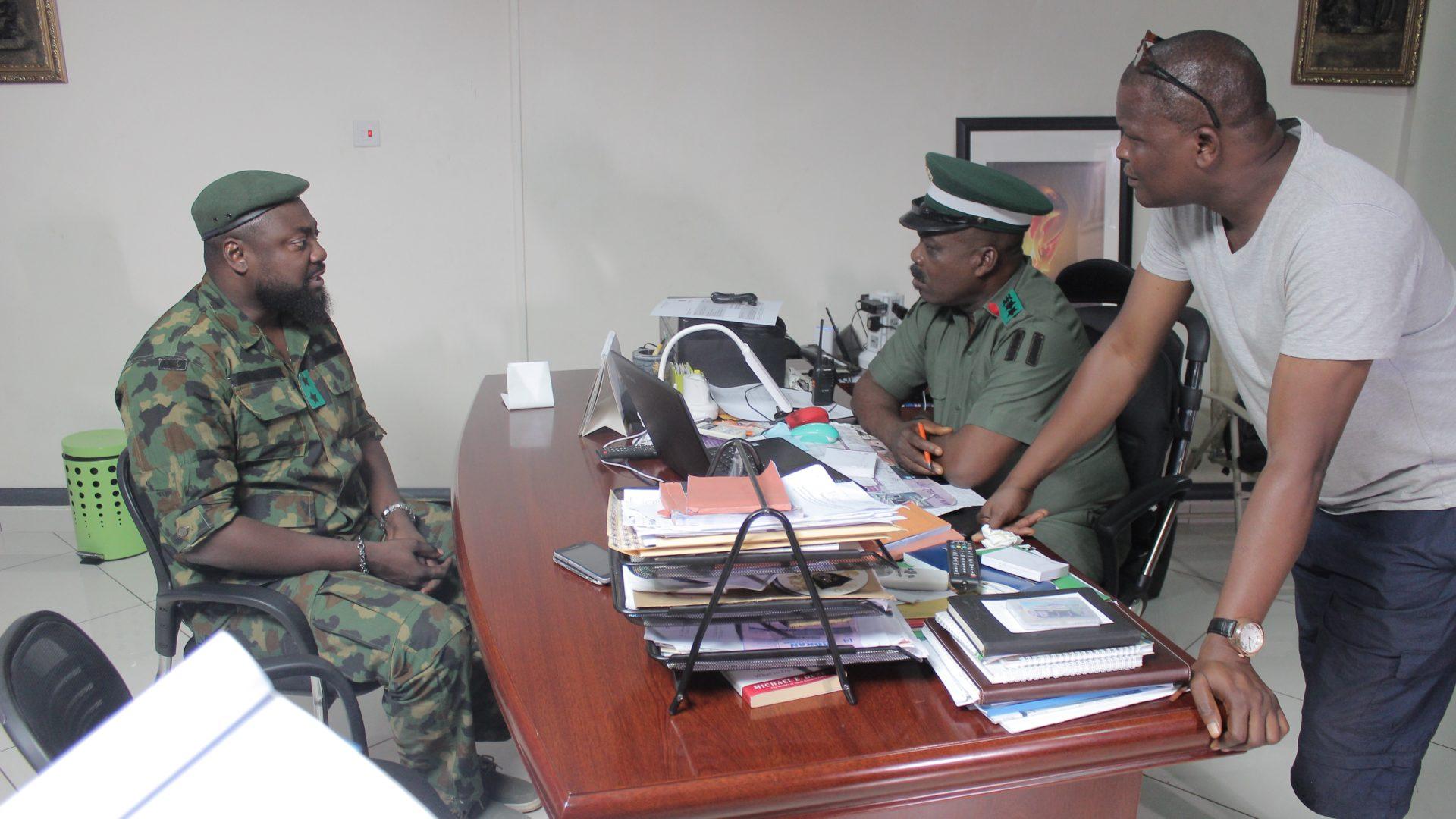 'Shadow Parties' was shot in Lagos, Ibadan, Erin Ijesha, Akure and Ekiti.